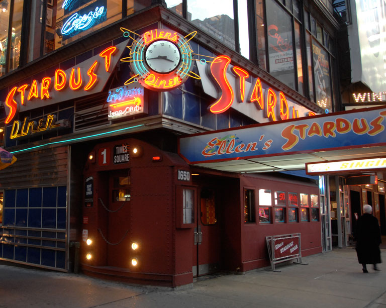 Exterior photo of Ellen's Stardust Diner
