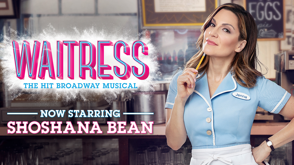 Shoshana Bean stars in Waitress on Broadway