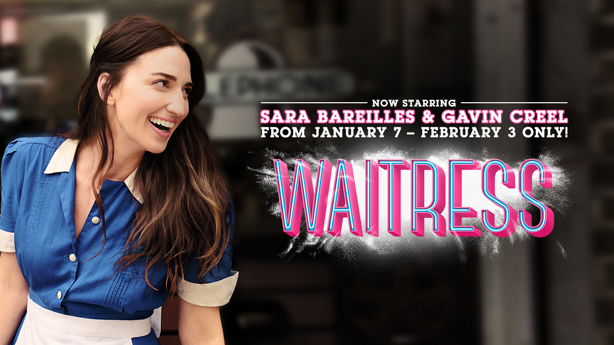 sara Bareilles stars in Waitress