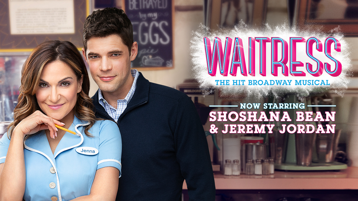 Shoshana Bean and Jeremy Jordan star in Waitress
