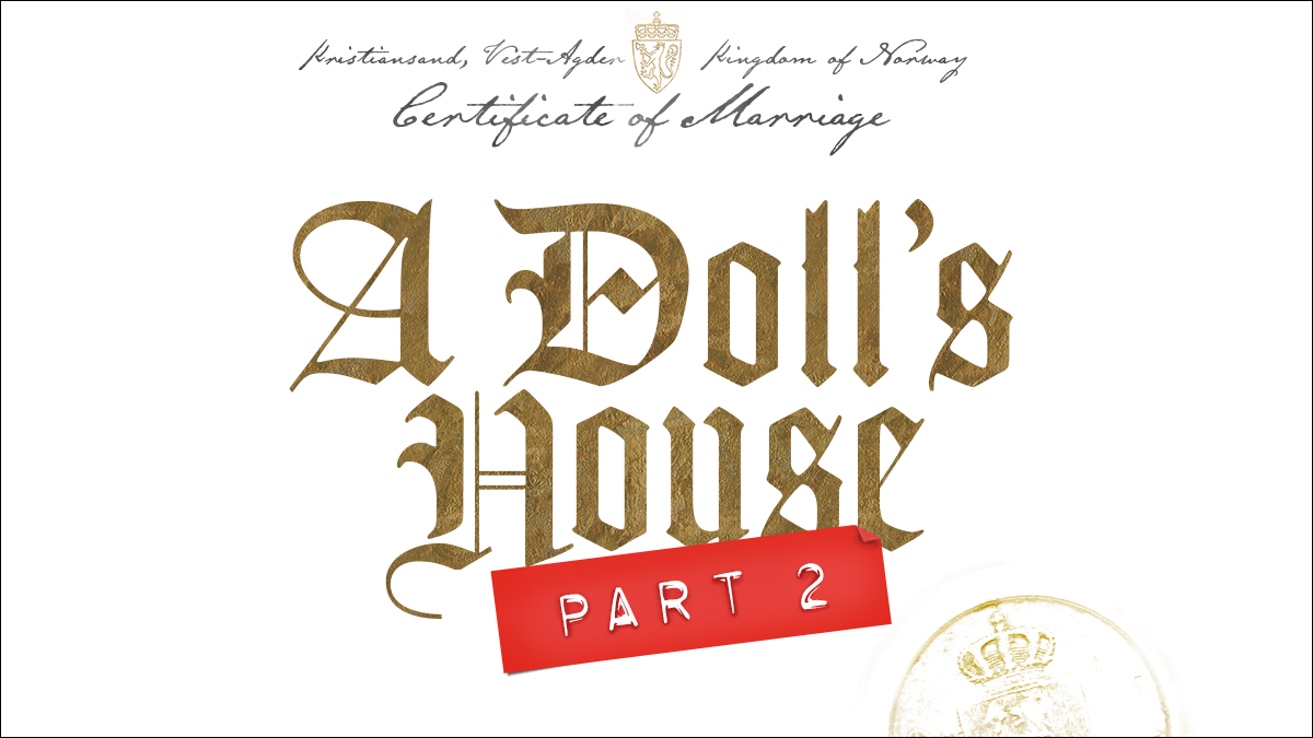 A Doll's House Part 2 on Broadway