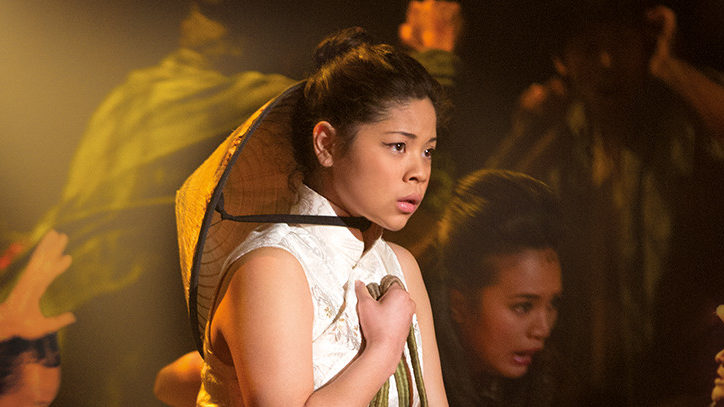 Eva Noblezada in Miss Saigon on Broadway