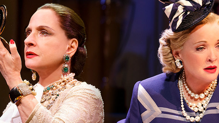 Patti LuPone and Christine Ebersole in War Paint on Broadway