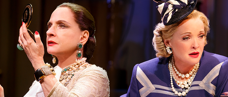 Patti LuPone and Christine Ebersole Reign as Cosmetics Queens in War Paint