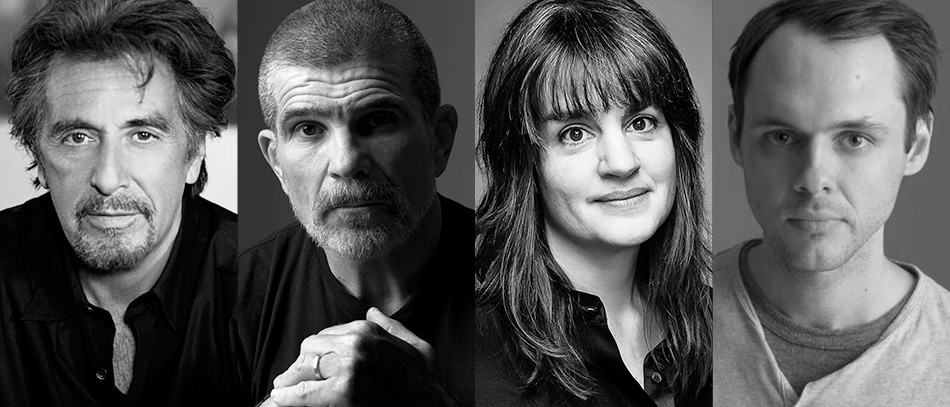 Al Pacino, David Mamet, and Pam MacKinnon