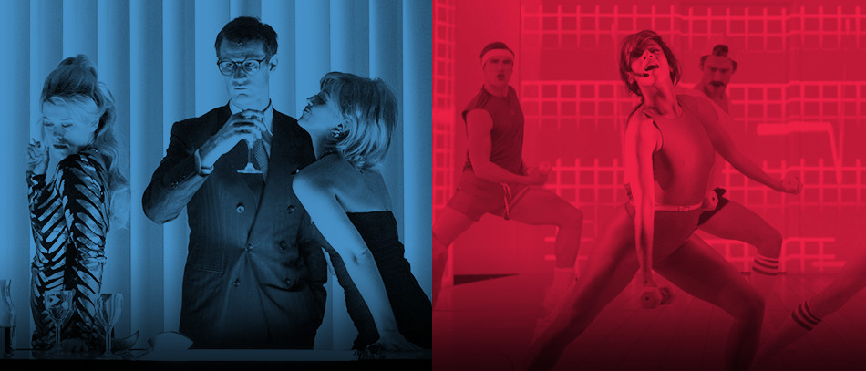 The Broadway company of American Psycho the musical