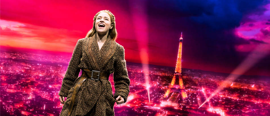 Christy Altomare in the Broadway musical Anastasia