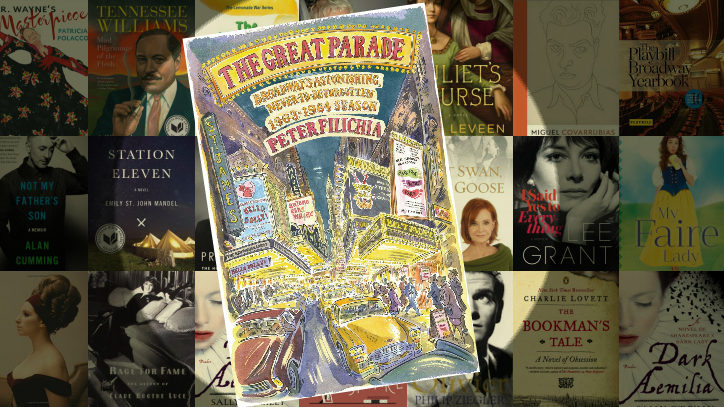 The book cover for The Great Parade by Peter Filichia