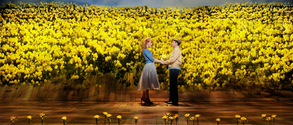 kate Baldwin and Norbert Leo Butz in Big Fish the Broadway musical