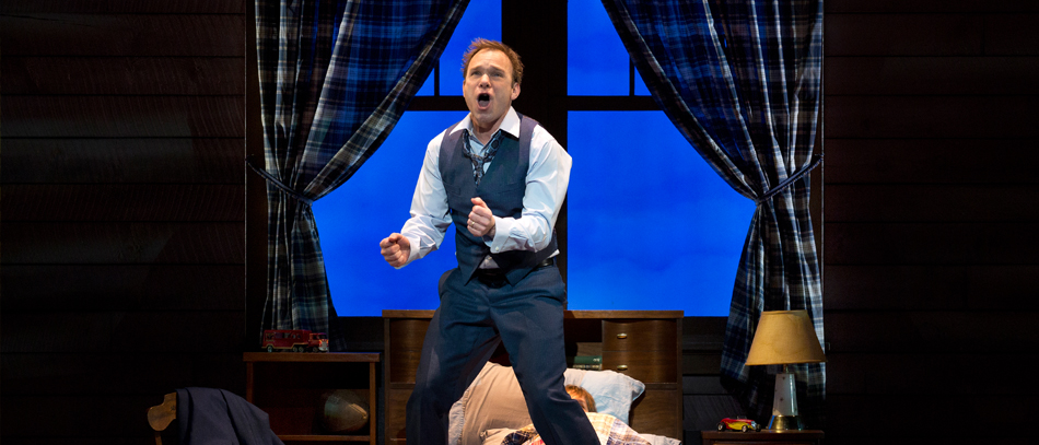 Norbert Leo Butz in the Broadway musical Big Fish