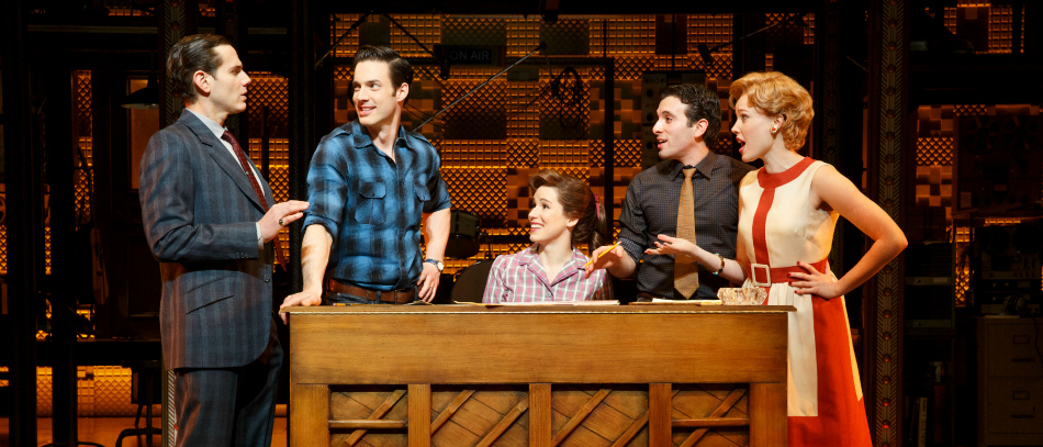 The Broadway company of Beautiful: The Carole King Musical