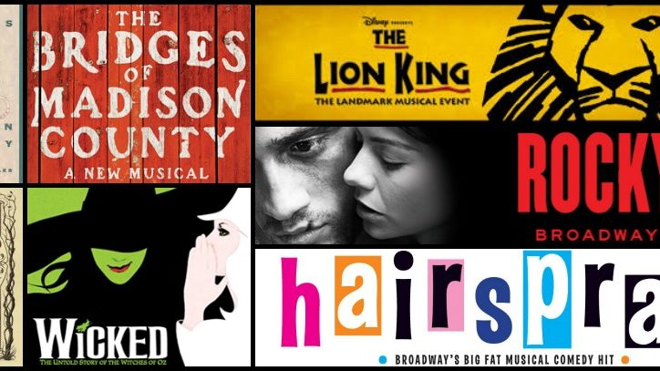 Films and Books that have been adapted for Broadway