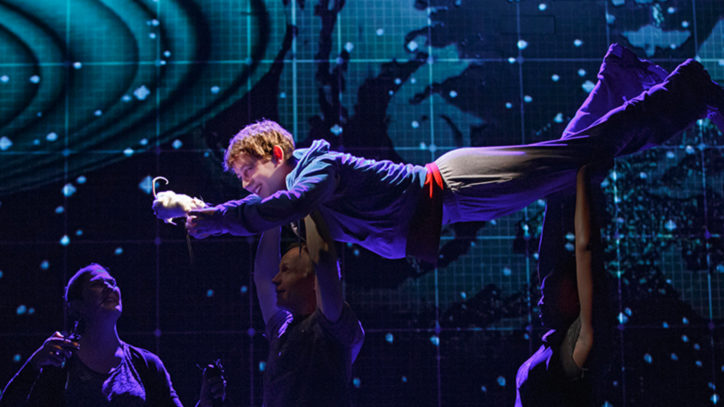 The Broadway company of The Curious Incident of the Dog in the Nighttime