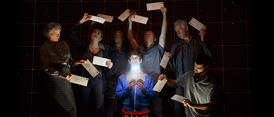 A production photo from Curious Incident of the Dog in the Nighttime