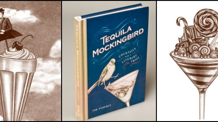 The book Tequila Mockingbird: Cocktails with a literary twist