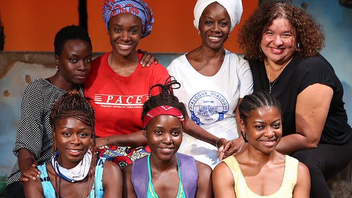 The Broadway company of Eclipsed