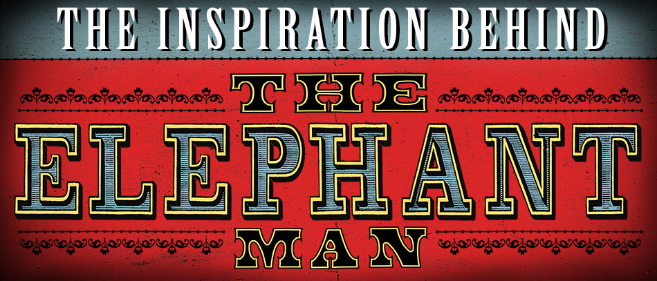 The logo for the Broadway revival of The Elephant Man