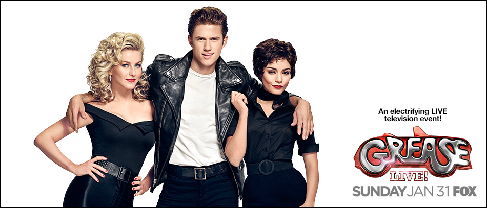 The stars of Grease Live! on Fox