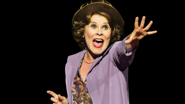 Imelda Staunton in the West End revival of Gypsy