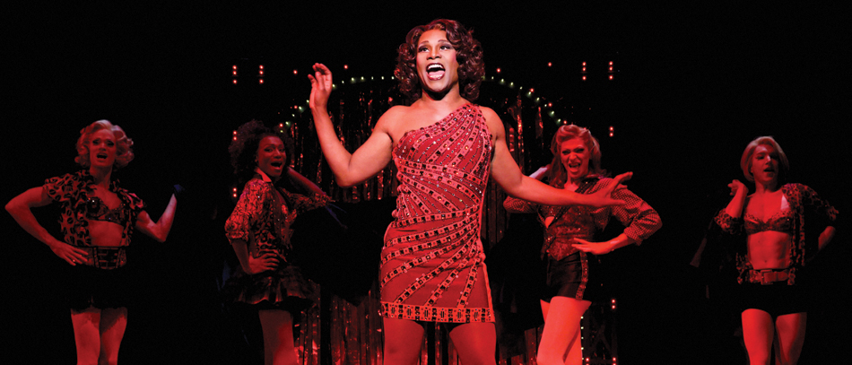 Billy Porter and the cast of Kinky Boots on Broadway