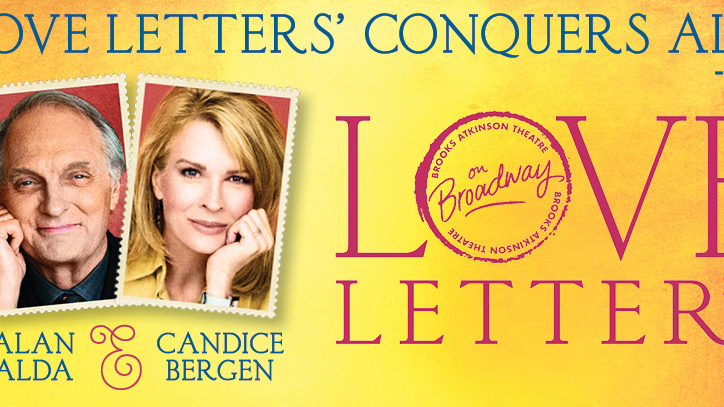 Alan Alda and Candice Bergen star in Love Letters on Broadway
