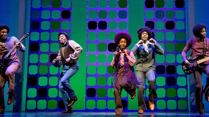 The Broadway company of Motown the Musical