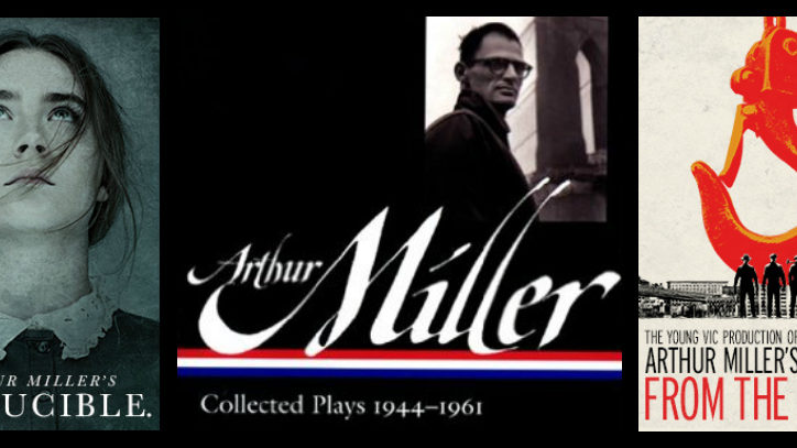 posters for Broadway productions of Arthur Miller plays