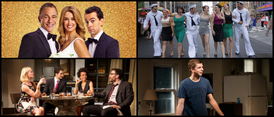 Broadway shows that feature different New York neighborhoods