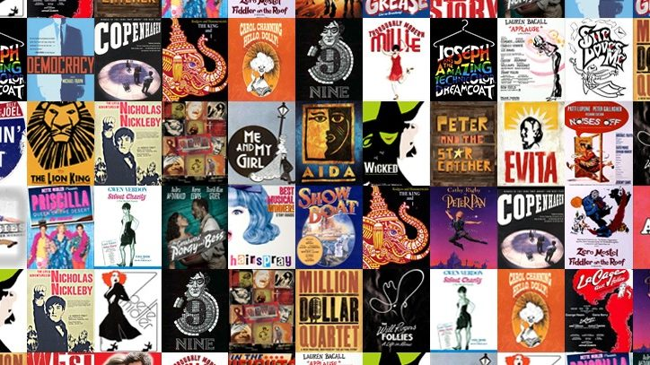 Playbill covers from Broadway shows