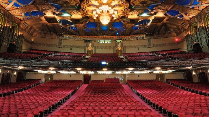 Inside the Hollywood Pantages theatre