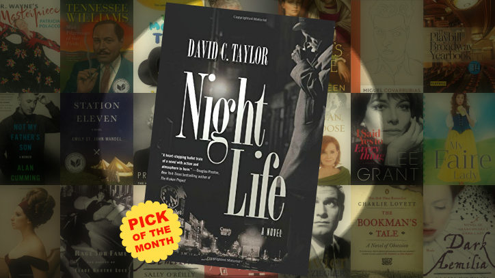 The cover of the book Night Life by David C. Taylor