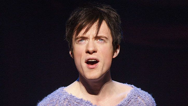 Matthew James Thomas in the Broadway revival of Pippin