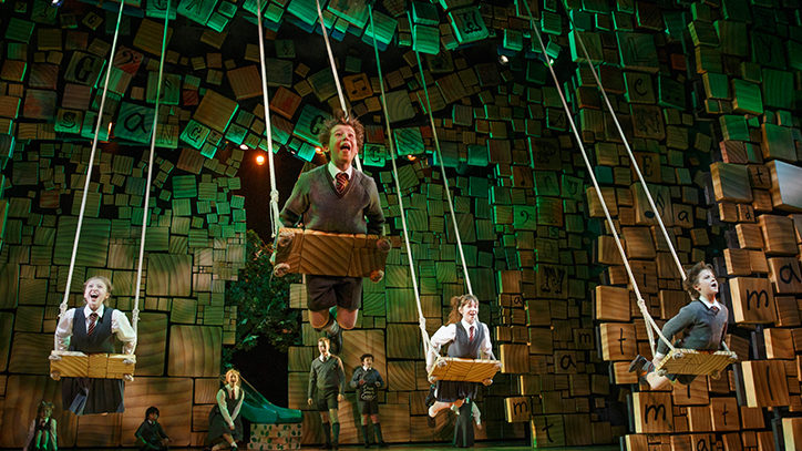 The Broadway company of Matilda the Musical