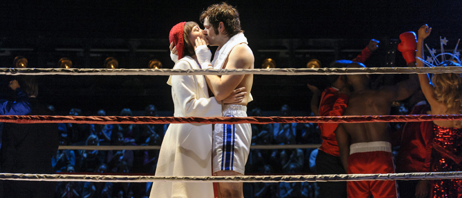 Andy Karl in Rocky the Broadway musical