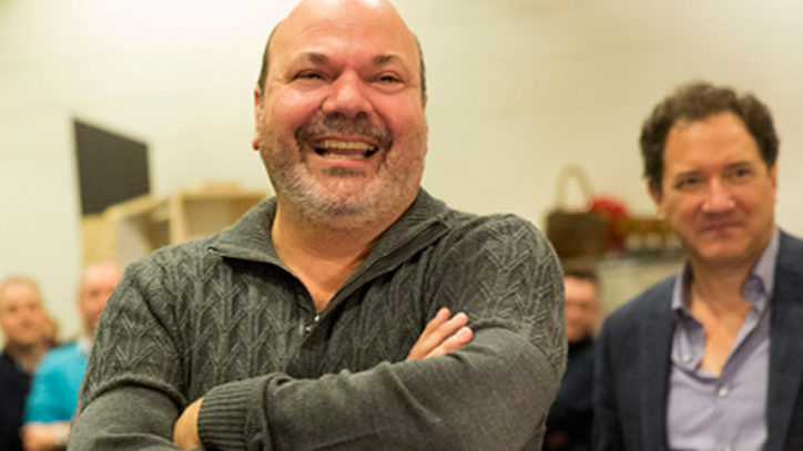 Casey Nicholaw on directing Something Rotten