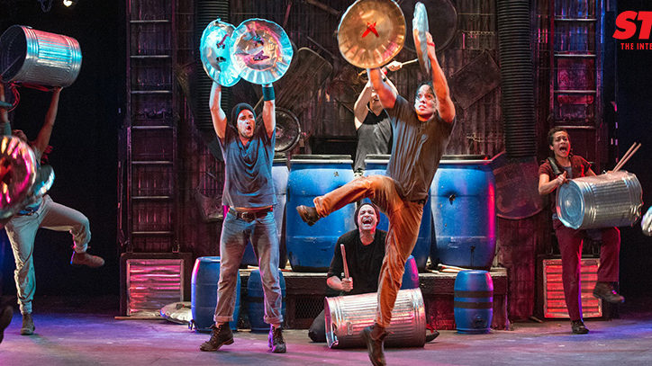 The company of Stomp