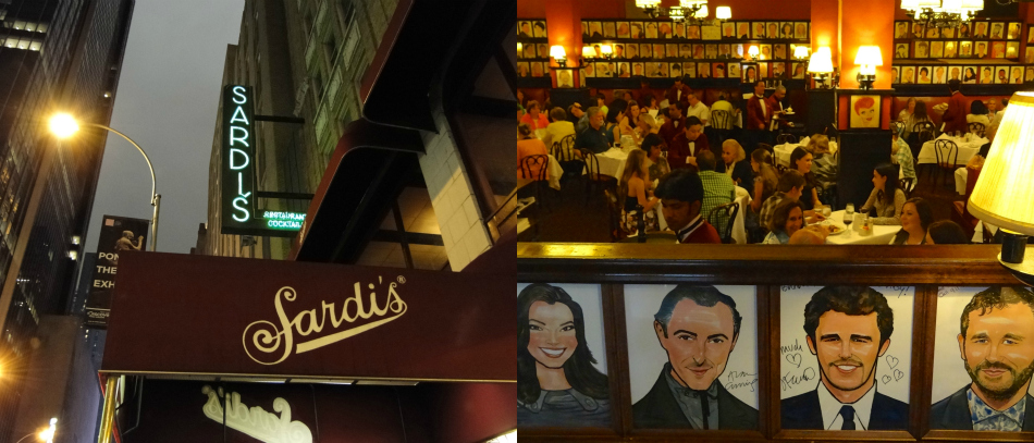 Sardi's Restaurant Offers More Than a Taste of Broadway
