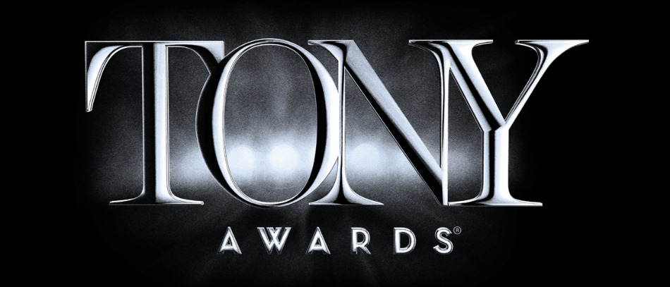 The Tony Awards logo in Black and White