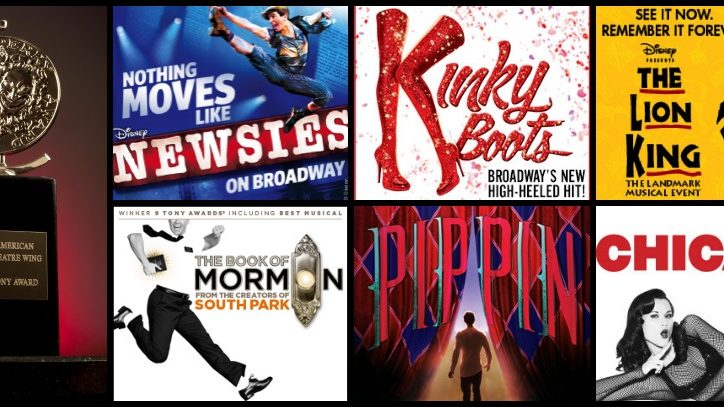 Tony-Winning Shows on Tour