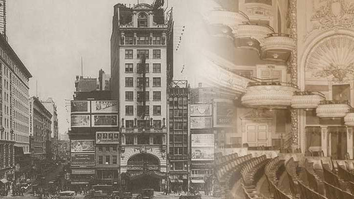 Historic photos of Broadway's Palace theatre