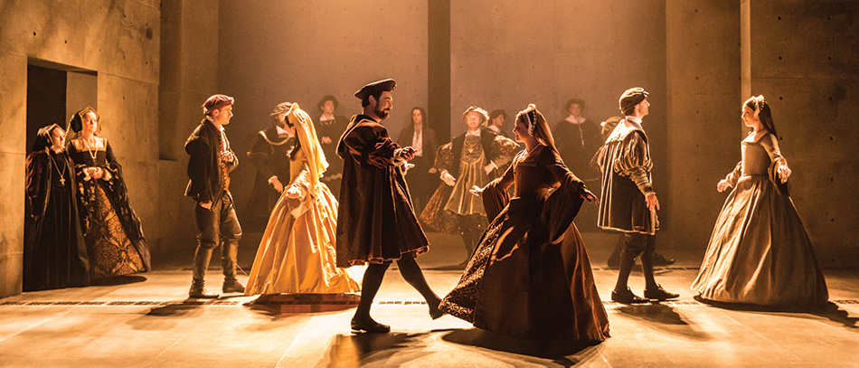 A Paw Print From the Past: Christopher Oram Reveals a Secret in Wolf Hall Set