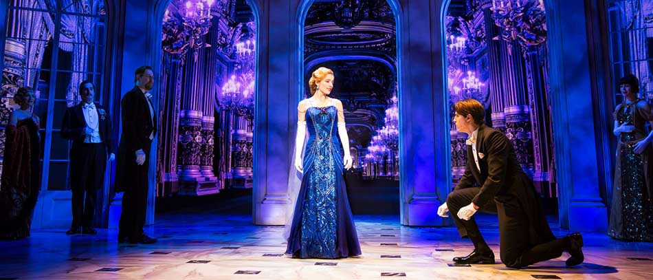 The Broadway company of Anastasia the musical