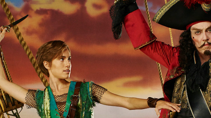 Allison Williams in Peter Pan Live on NBC
