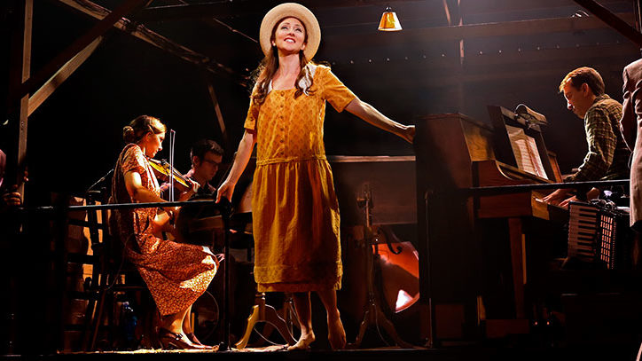 A production photo from the musical Bright STar