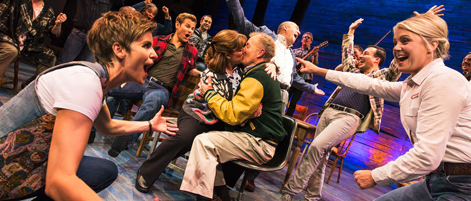 The Broadway company of Come From Away