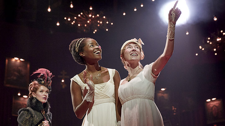 The Broadway company of The Great Comet