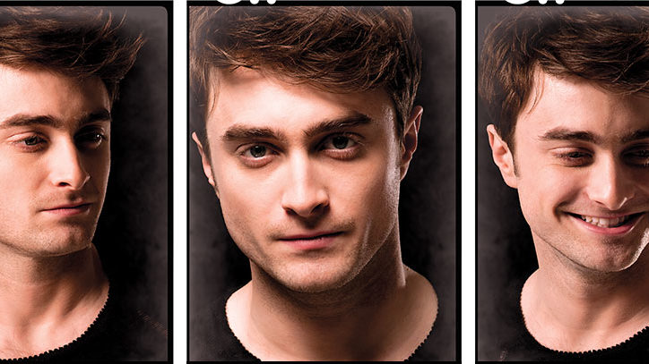 Daniel Radcliffe in three portraits