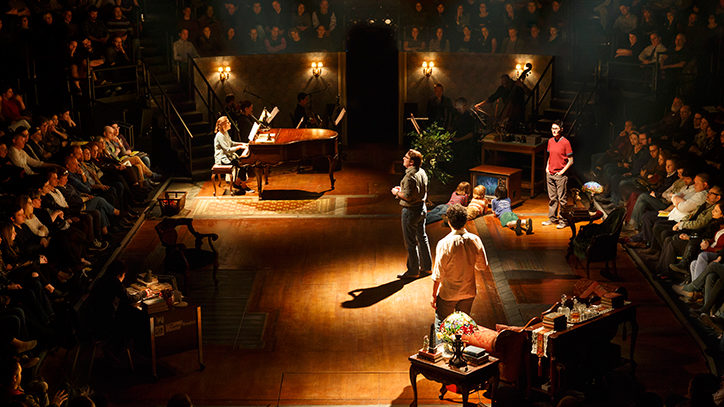 The Broadway company of Fun Home the musical