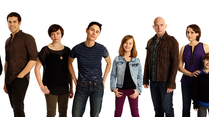 The Broadway company of Fun HOme