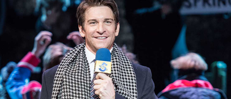 Andy Karl in Groudhog Day the Broadway musical
